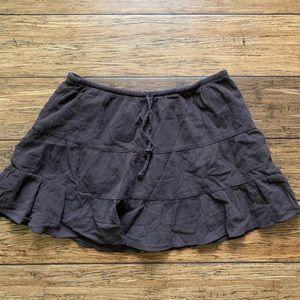 Old Navy Skirts - Chocolate Brown Drawstring Peasant Skirt